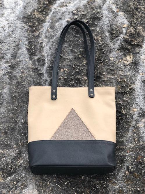 6 Genuine leather handbag