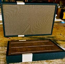 Hebert custom pedal board and cab
