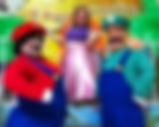 Quero CONTRATAR personagens ANÕES - Mario Bros, Luigi e Princesa Peach