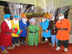 Contratar Personagens Branca de Neve e Os Sete Anões