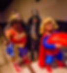 Super Man, Mulher Maravilha BatMan - combatendo a mesmice nos eventos