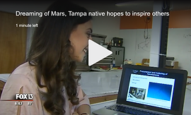 Dreaming of Mars, Tampa native hopes to inspire others