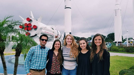 Last Day with KSC Interns!