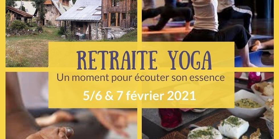 Retraite Yoga                      -  Faire du temps qui passe un alié.