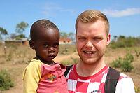 Qualified student volunteering in Musoma, Tanzania