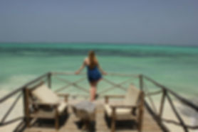Relaxig on Zanzibar Island