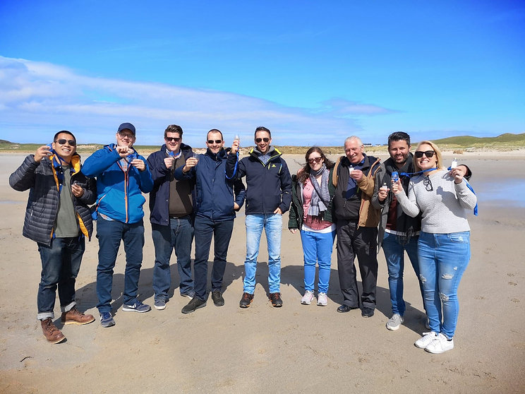Group on Machir Bay, Islay.jpg