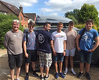 Before the Three Peaks Challenge to raise funds for Tanzania