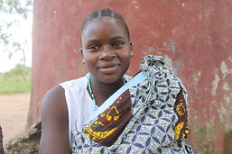 One of our par time employees at Musoma, Tanzania