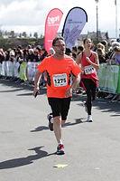 Darren ran a half marathon to raise money for Go Make a Difference