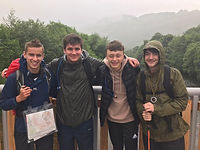 Climbing the Three Peaks for Go Make a Difference