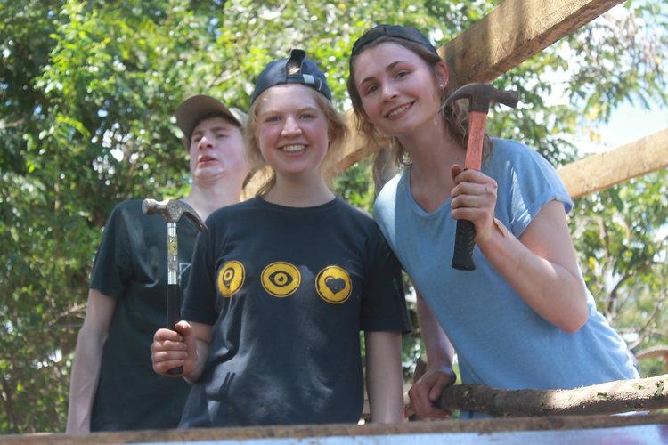 Volunteers on Gap Year programme, Tanzania