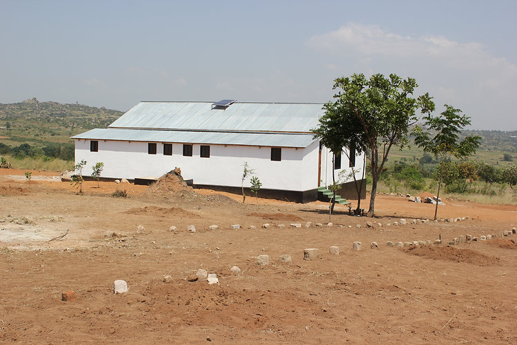 Health centre site at Kyamajoje, Tanzania