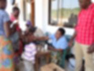 Health outreach project, rural Tanzania