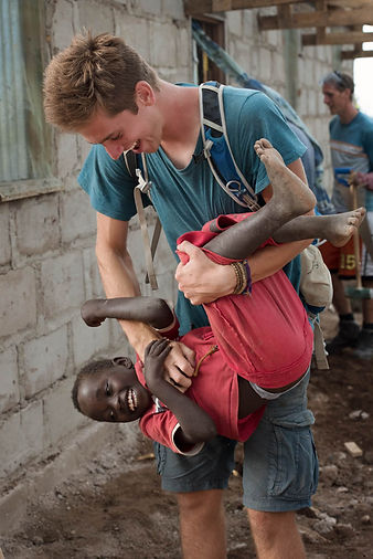 Gap Year volunteer, Musoma