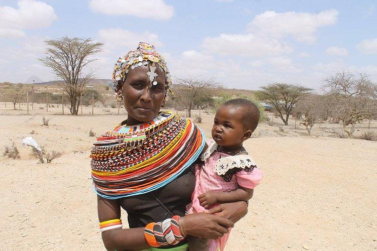 Rendille people of Northeast Kenya,