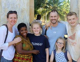 Family volunteering, Mtwara
