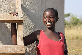 Local girl in Musoma after helping to build water tank with our volunter group