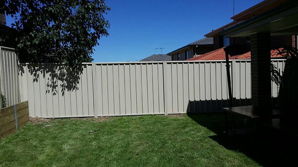 Colorbond Fence Panel 1.8m (H)
