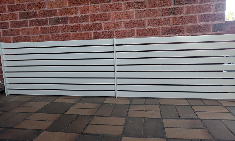 Slat Height Extension Panels @ 600mm (H)