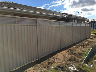 Colorbond Fence Height Extension Louvre Inserts 300mm