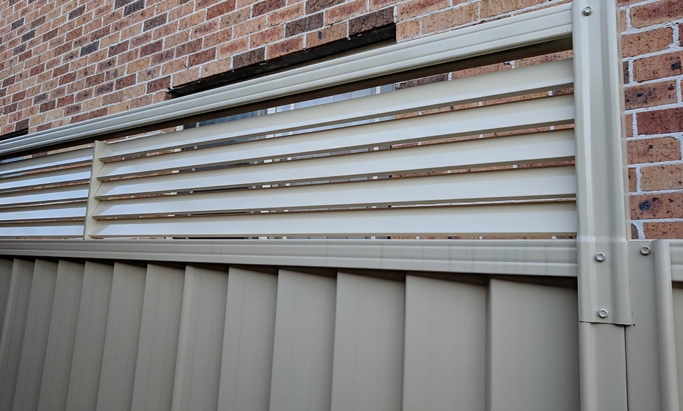 Louvre Height Extension Panels @ 300mm (H)