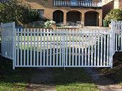Vertical Picket Gate