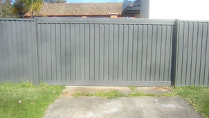 Automatic Colorbond Sliding Gate