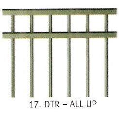 Double Top Rail 1.5m (H)