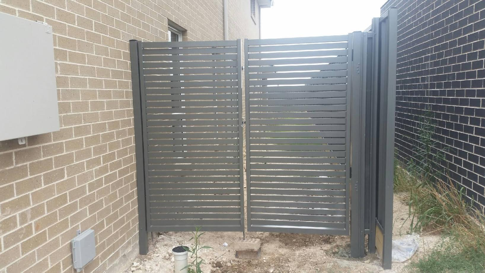 Slat Double Gate