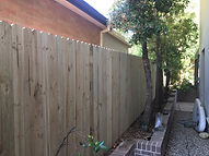 Single Paling Timber Fence built by timberfencing.sydney