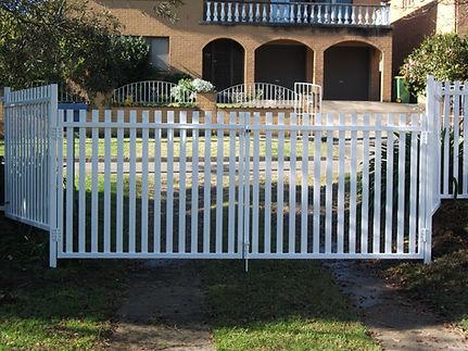 Vertical Picket Fencing & Gates