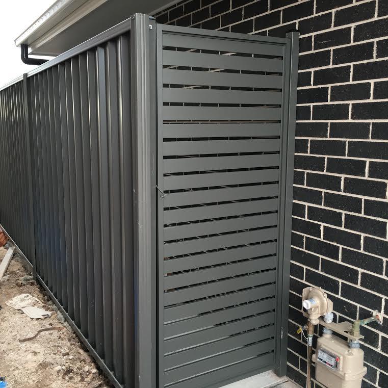 Aluminium Horizontal Slat Gate