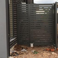 Slat Gate & Fixed Panel