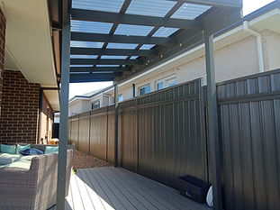 Colorond Fence Sheet Height Extension