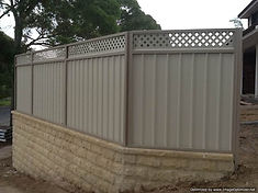 City Fencing | Colorbond Fencing