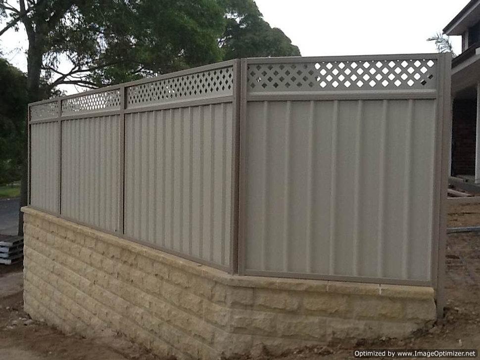 Fencing Sydney Colorbond Fencing Blacktown Nsw
