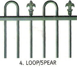 Loop & Spear 1.5m (H)