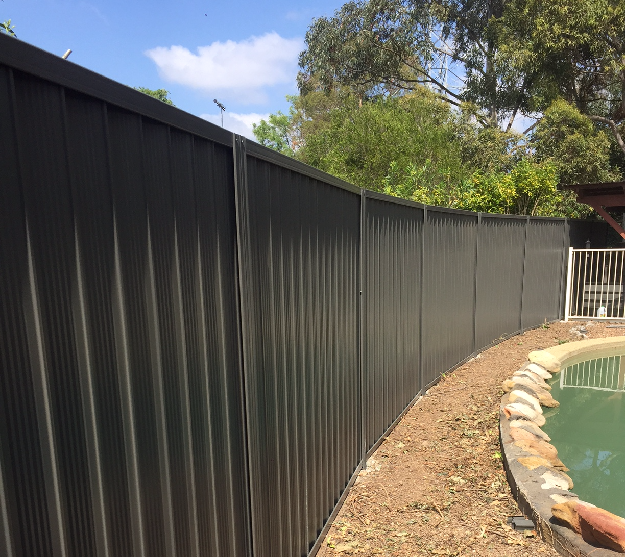 Colorbond Fence