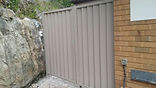Colorbond Single Gate & Fixed Panel West Pennant Hills