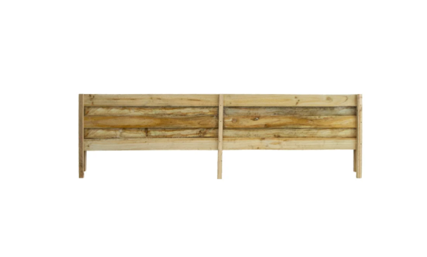 Timber Paling Fence Height Extension Panel