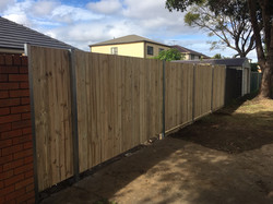 timber double gate