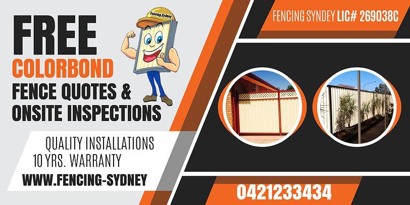 Fencing.Sydney Banner