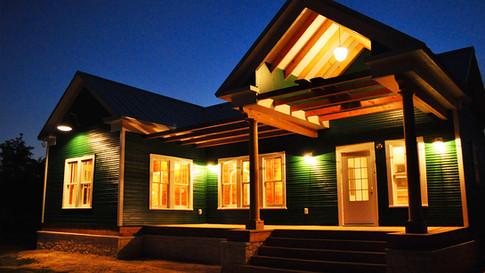 1920s Farm house renovation – The Green House