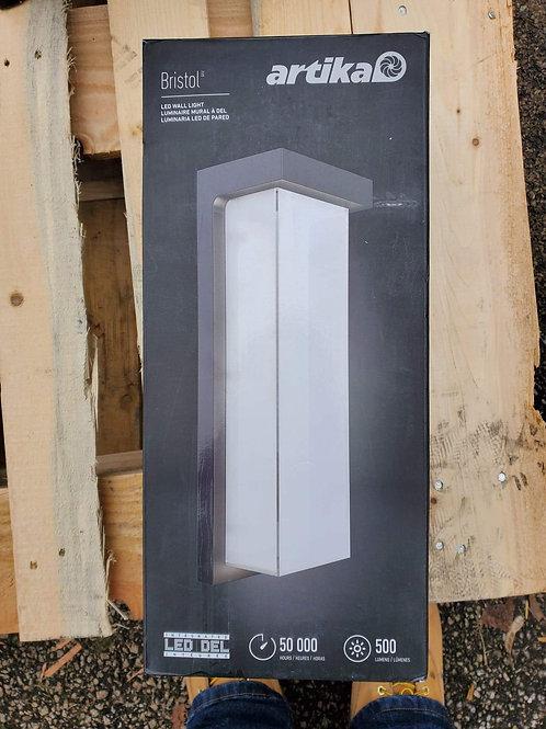 Artika Bristol Wall-Mounted LED Light Fixture Sconce 1351005