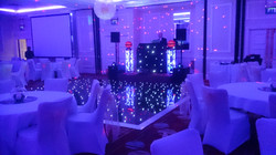 Starlit Events Black starlight floor