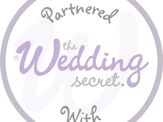 Proud to announce we are now partnered with The wedding Secret South Wales