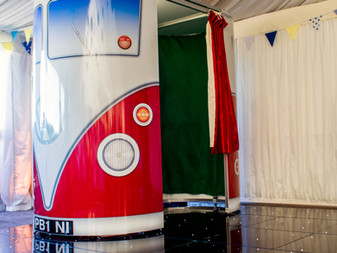 VW Photo booth from Starlit Events
