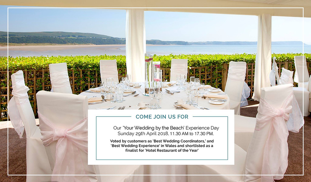 oxwich bay Wedding by the Beach Experience