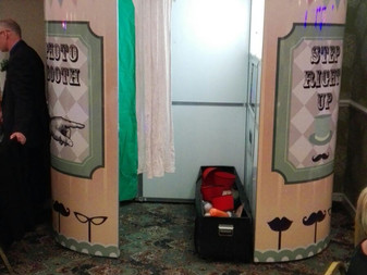 Vintage Booth from starlit events